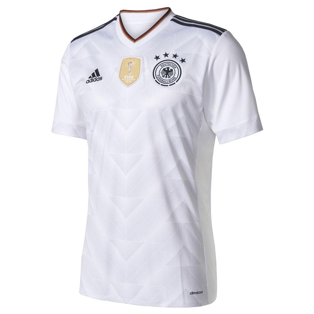 470f1df5e9 Camiseta Adidas Alemanha Masculina B47873 - Branco Preto - Botas ...