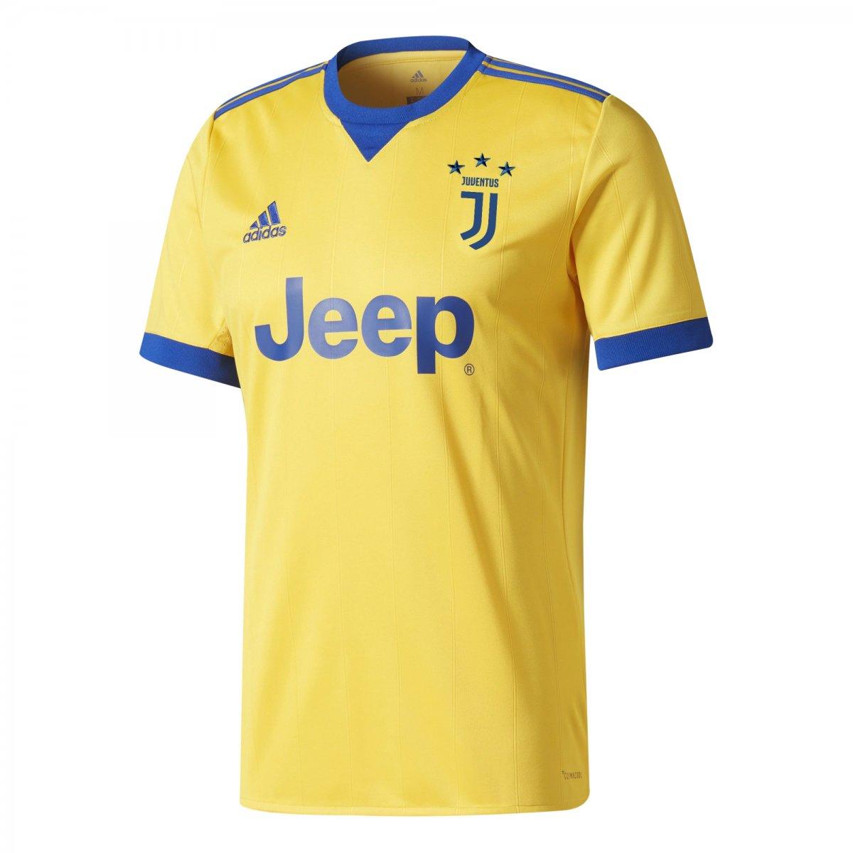 03f667fa0af38 Camiseta Adidas Juventus II BQ4530 - Amarelo Azul - Botas Online ...