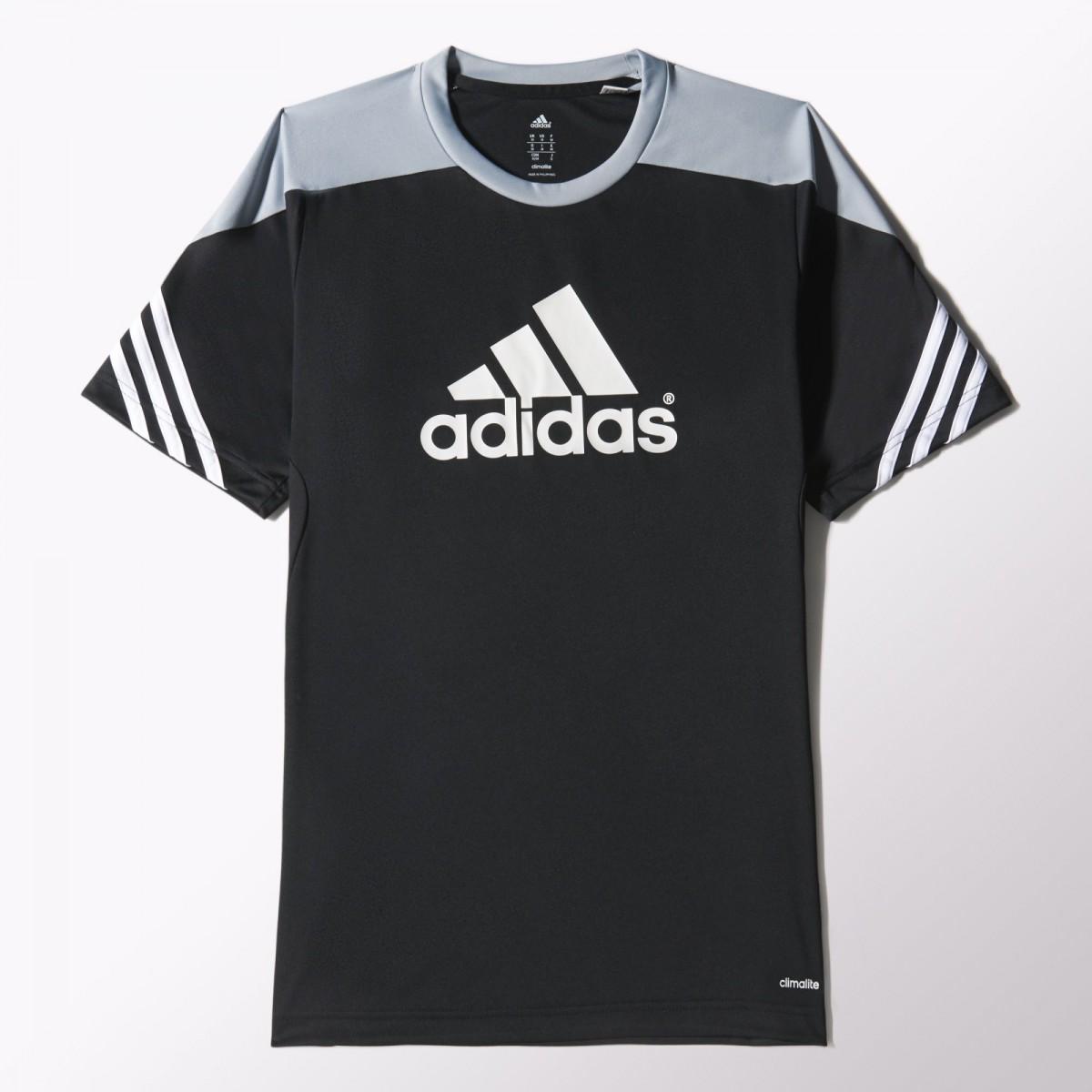 c2a0909bc83 Camiseta Adidas Treino Sere 14 F49700 - Preto - Botas Online ...