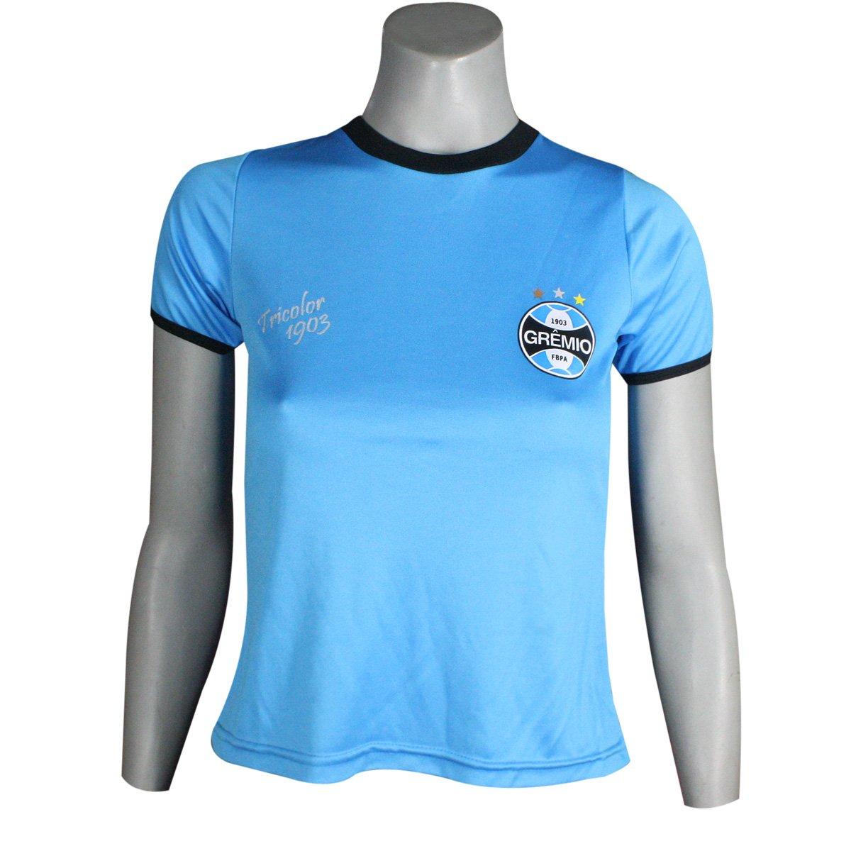 cc207b4f16 Camiseta Feminina Dilva Oldoni Grêmio