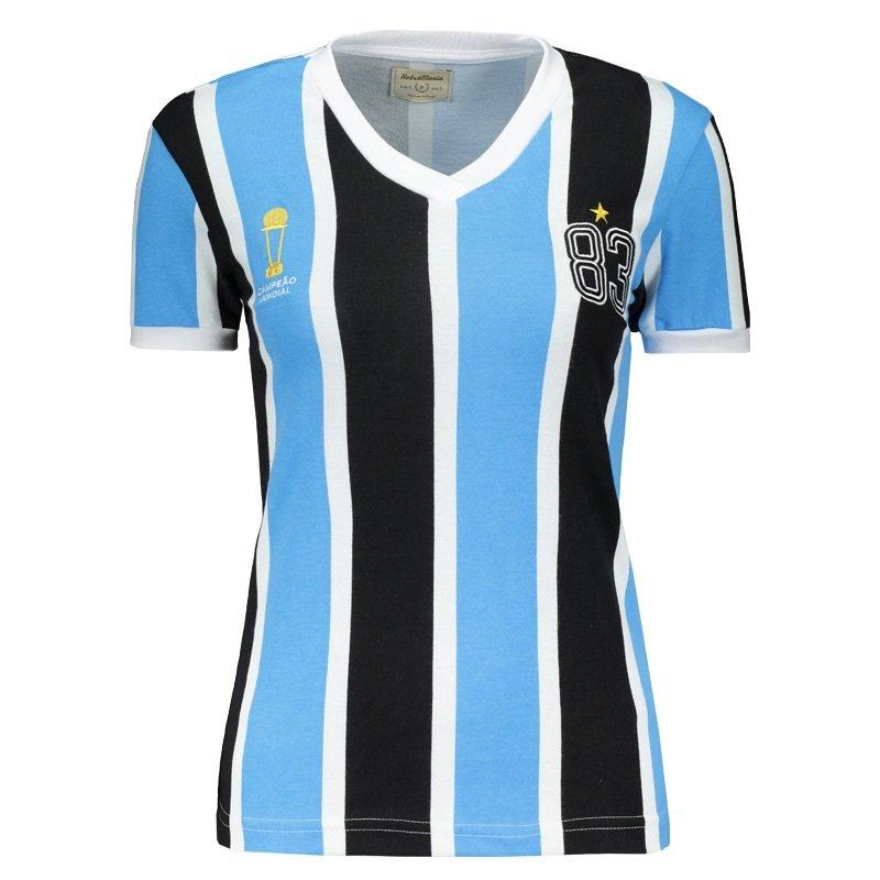 74486122d0 Camiseta Feminina Tricolor 1983 Retrô Mania