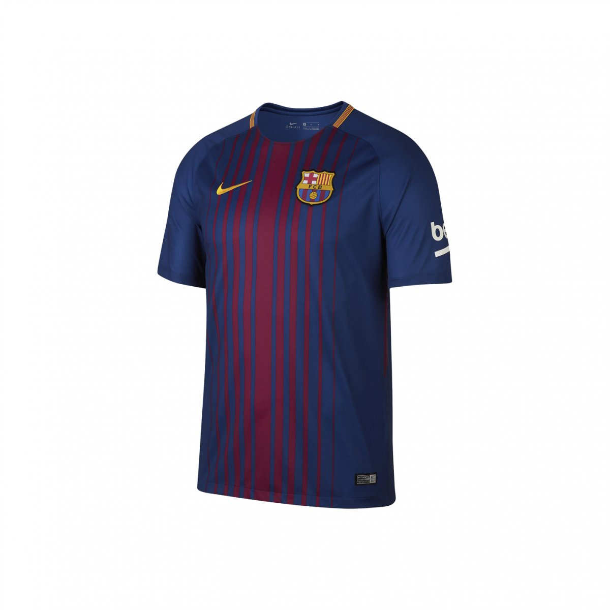 Amplie a imagem. Camiseta Infantil Nike Barcelona Dry Stadium Home 2017 18   Camiseta ... 89d421cd791