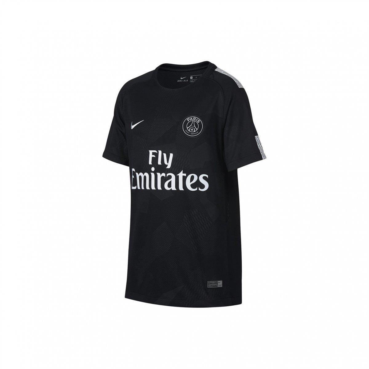 aa8a3e818f Amplie a imagem. Camiseta Infantil Nike Paris Saint Germain III 2017/18;  Camiseta Infantil Nike Paris ...