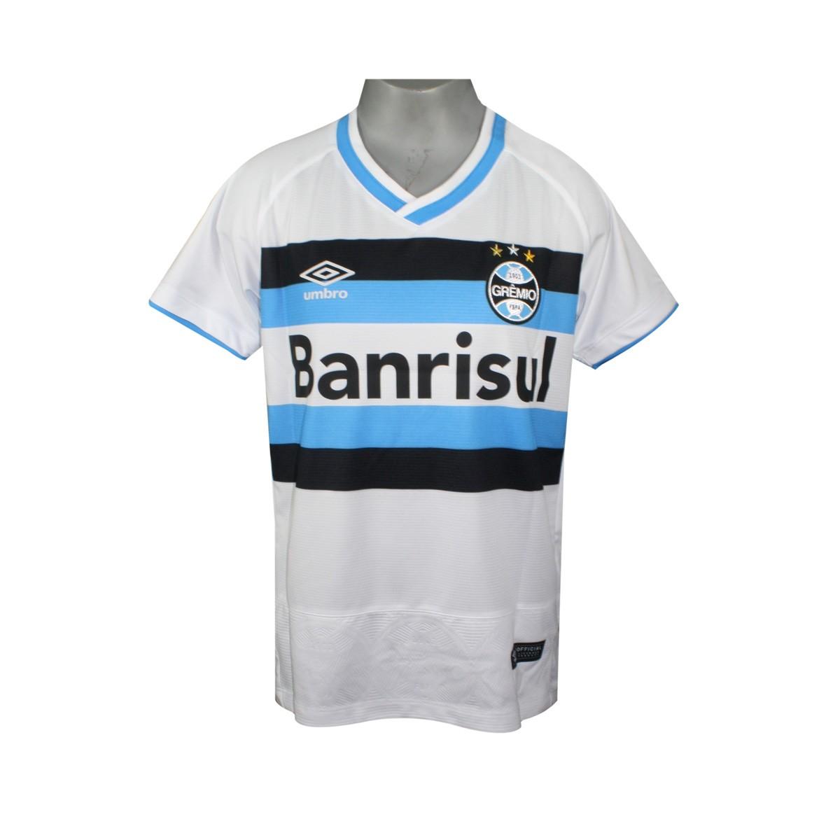 83604e4459 Amplie a imagem. Camiseta Junior Grêmio Oficial 2 2016 Umbro  Camiseta  Junior Grêmio Oficial ...
