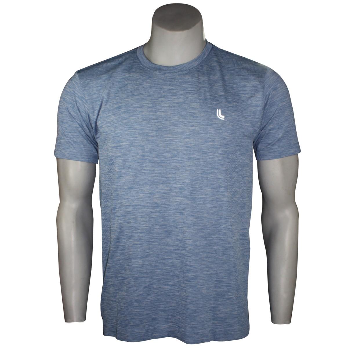 33a0adc8ef Camiseta Masculina Lupo Run Mescla 70653-0770 - Azul - Botas Online ...