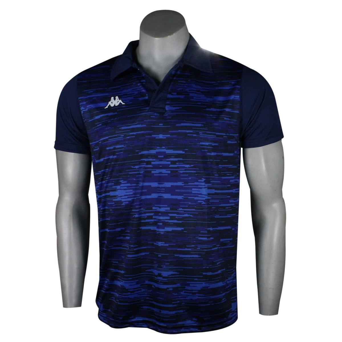 Camiseta Polo Kappa Jenner Masculina KP0127001 069 - Marinho - Botas ... be0910f8bcb4f