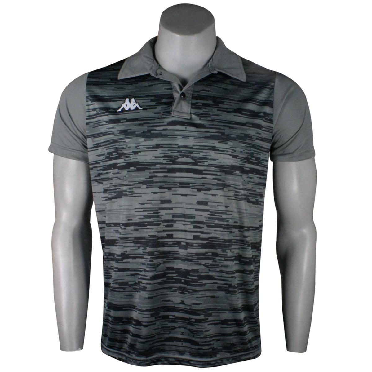 7085c77d59 Camiseta Polo Kappa Jenner Masculina KP0127001 044 - Chumbo - Botas ...