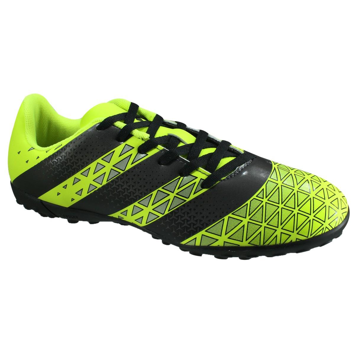 Chuteira Adidas Artilheira TF F7 H68343 - Verde Preto - Botas Online ... 37c48284ddcf8