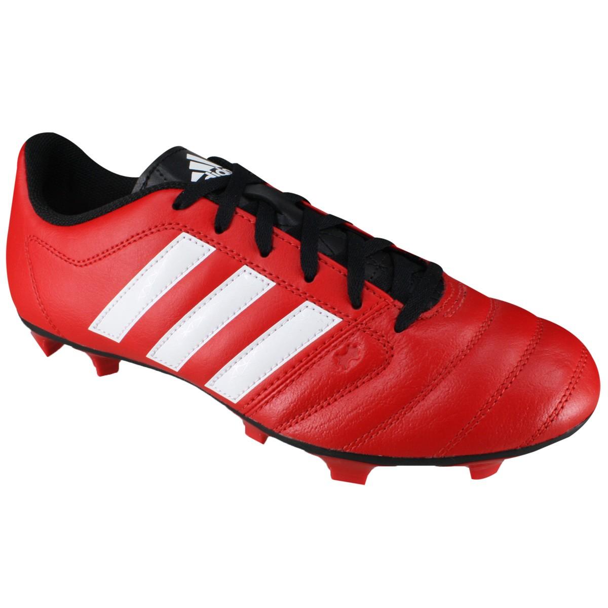 5b295a66a3 Chuteira Adidas Gloro 16.2 FG Campo AF4865 - Vermelho Preto - Botas ...