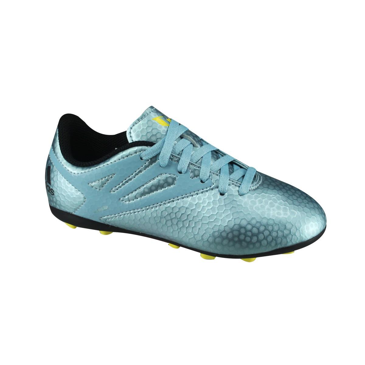 Chuteira Adidas Infantil Campo Messi 15.4 FXG B26956 - Petroleo ... 0ce681338c454