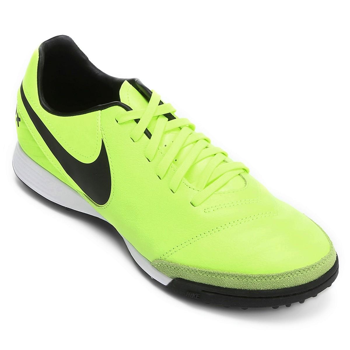7812ec84f8 Chuteira F7 Nike Tiempo Mystic V TF 819224-707 - Verde - Botas ...