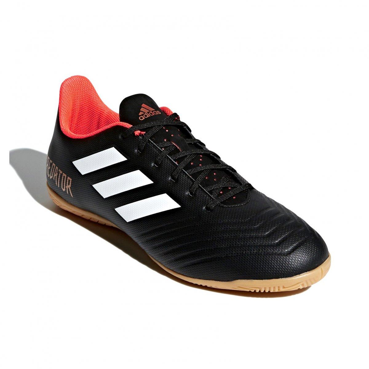 c4551da350e Indoor Futsal Adidas Predator Tango 18.4 IN CP9275 - Preto/Laranja ...