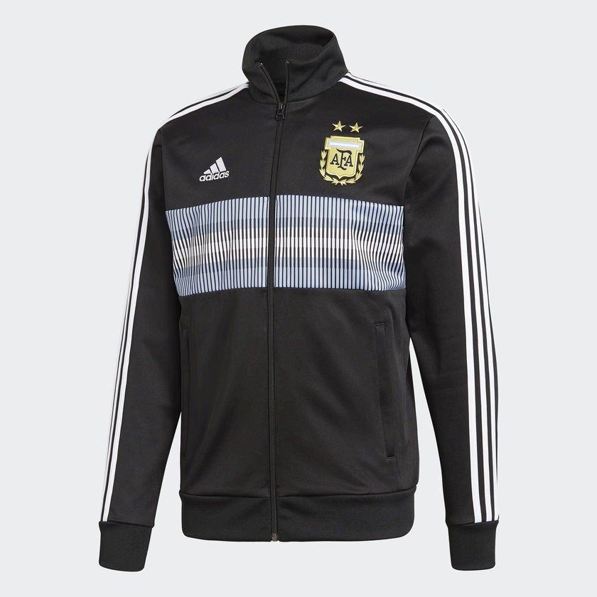 e9237d50a61 Jaqueta Adidas 3 Stripes Argentina Masculina CE6654 - Preto Azul ...