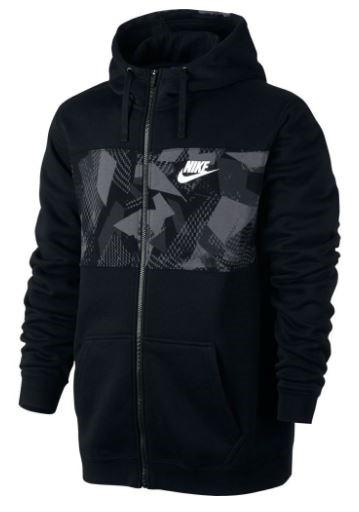 99e3742c88 Moletom Masculino Nike Hoodie FZ 831830-010 - Preto - Botas Online ...