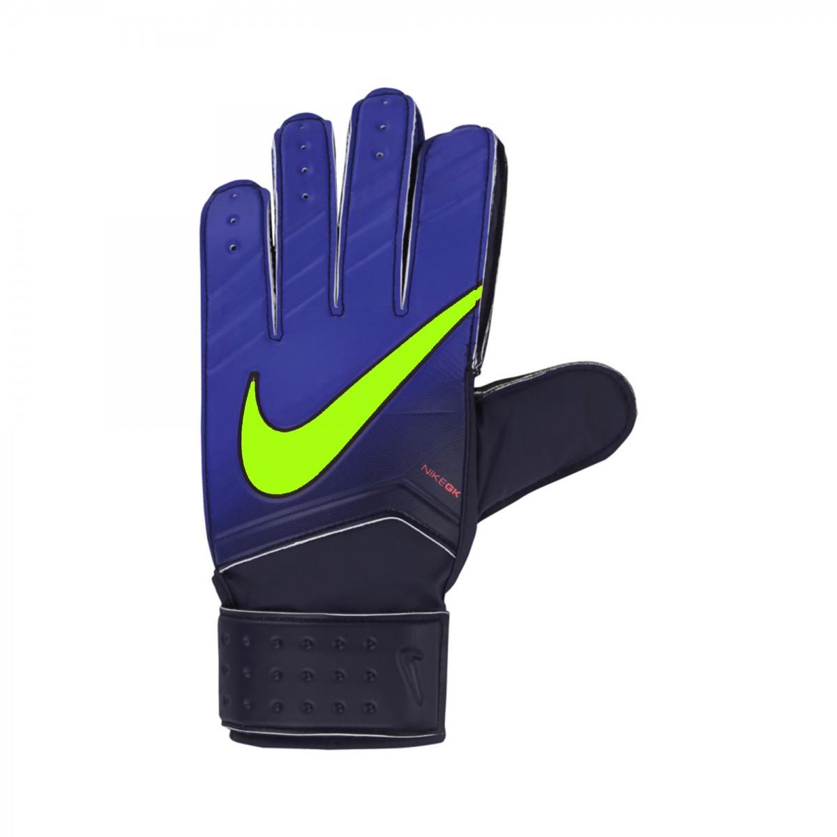 2ba61c841 Luva de Goleiro Nike GK Match GS0330-451 - Azul - Botas Online ...