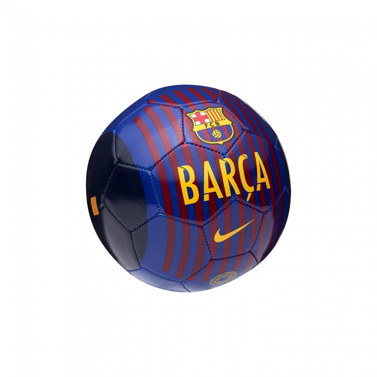 MiniBola de Futebol Nike Barcelona Skills SC3329-455 - Azul Vermelho ... 296f93feda7d8