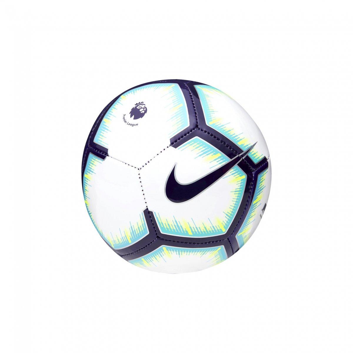 MiniBola de Futebol Nike Premier League Skills SC3325-100 - Branco ... 61a73a3d40cad