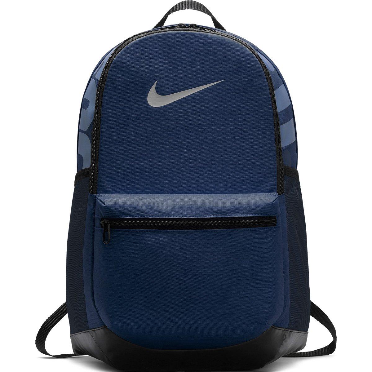 c830b4a98 Mochila Nike Brasilia Medium BA5329-480 - Azul Preto - Botas Online ...