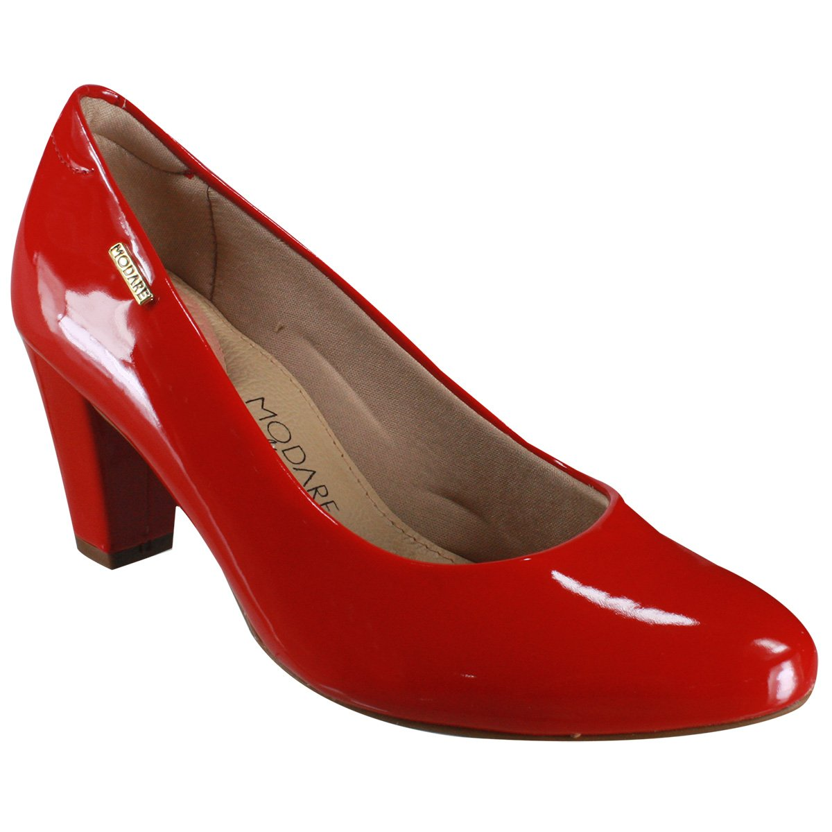 ef023477e Sapato Casual Modare Ultraconforto 7305.100 13488 46175 - Vermelho ...