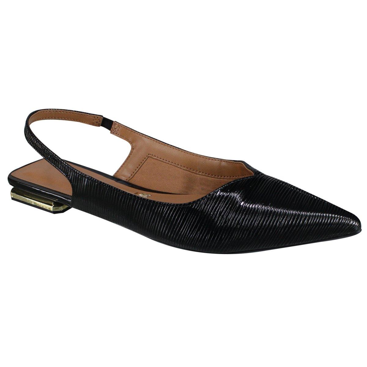 683b65365f Passe o mouse para ver detalhes. Amplie a imagem. Sapato Feminino Chanel  Vizzano ...