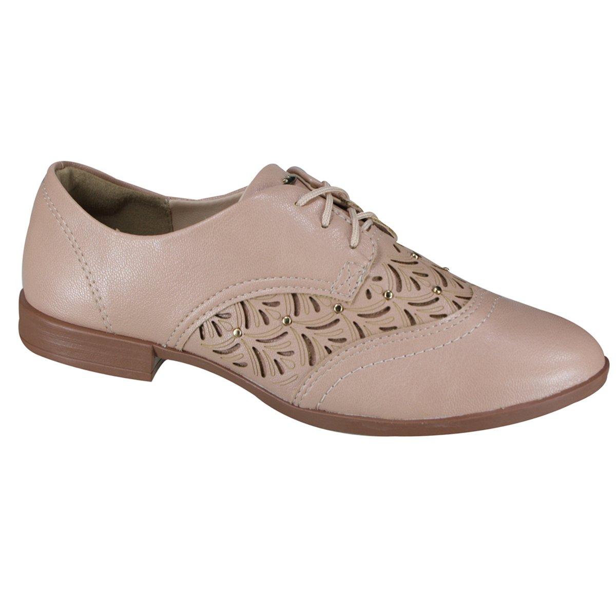 b313114e5 Sapato Feminino Dakota Oxford B9842 0008 - Noz (Portofino) - Botas ...