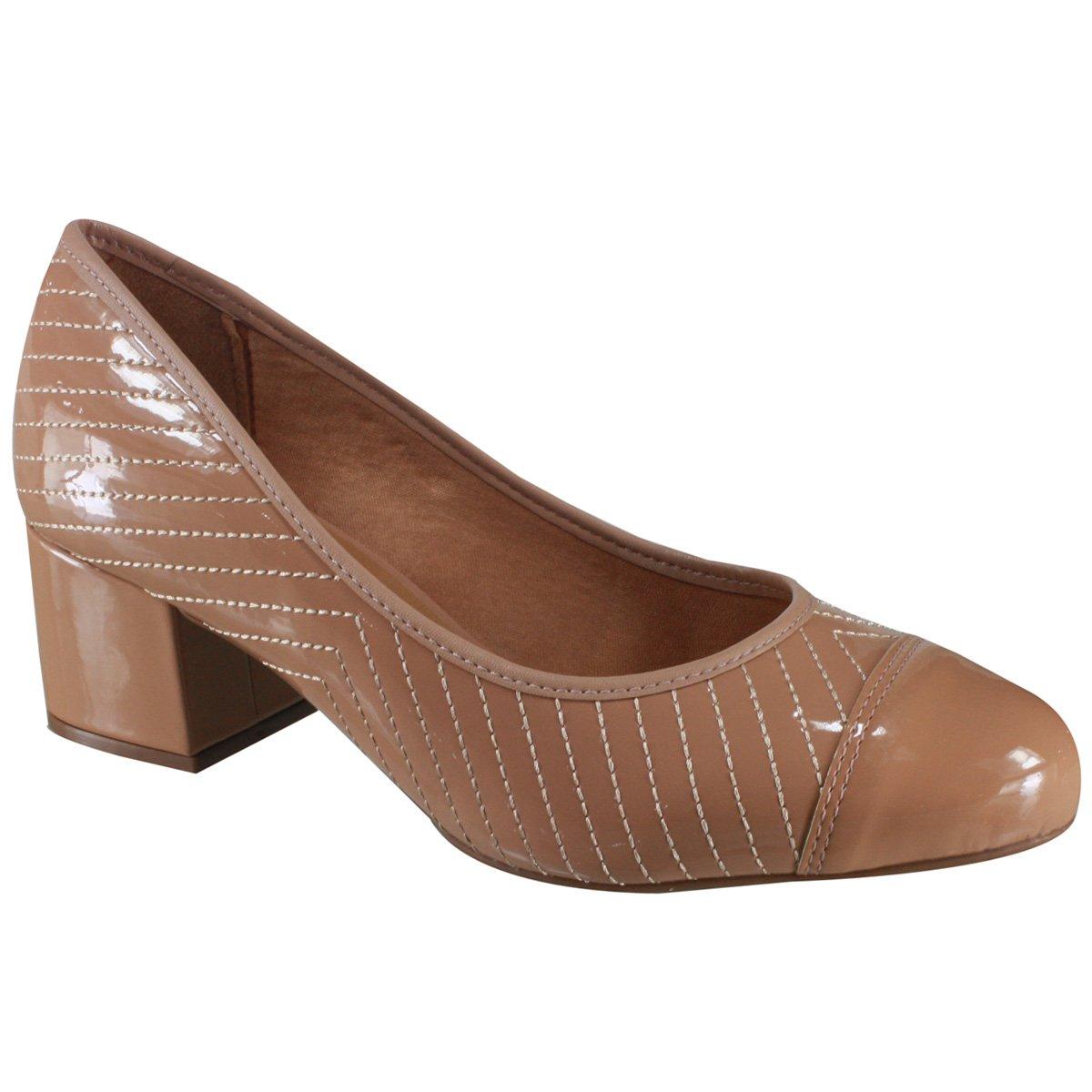 712b47c510 Passe o mouse para ver detalhes. Amplie a imagem. Sapato Feminino Vizzano  ...