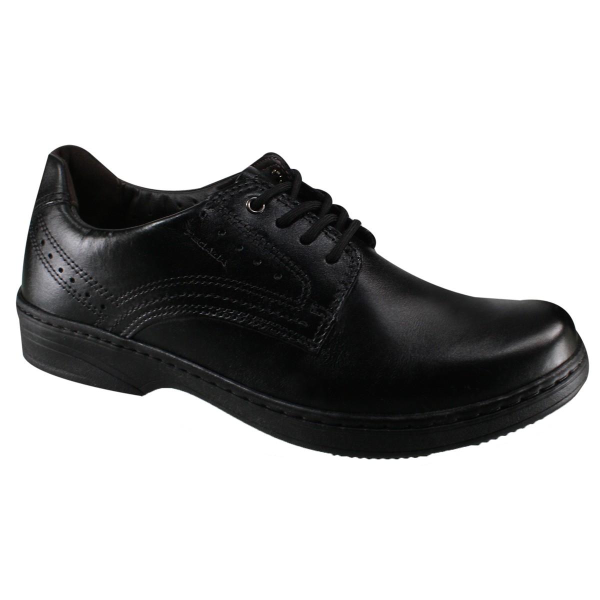 ecc325998b8 Sapato Social Pegada 21210-01 - Preto (Anilina) - Botas Online ...