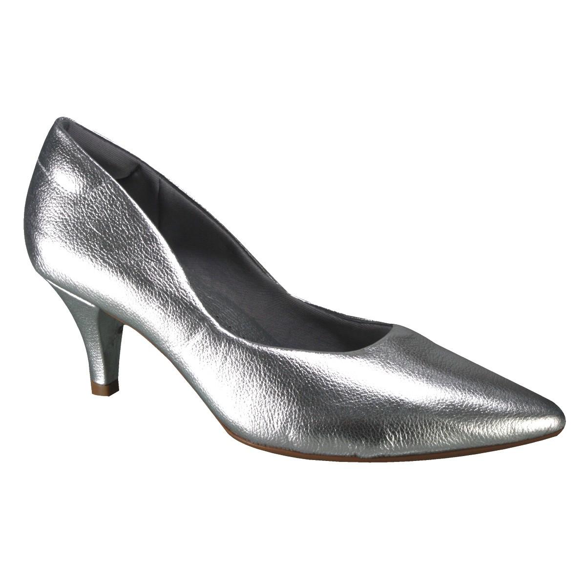 8e41c32569 Sapato Usaflex J6411-10 - Silver Prata (Floter) - Botas Online ...