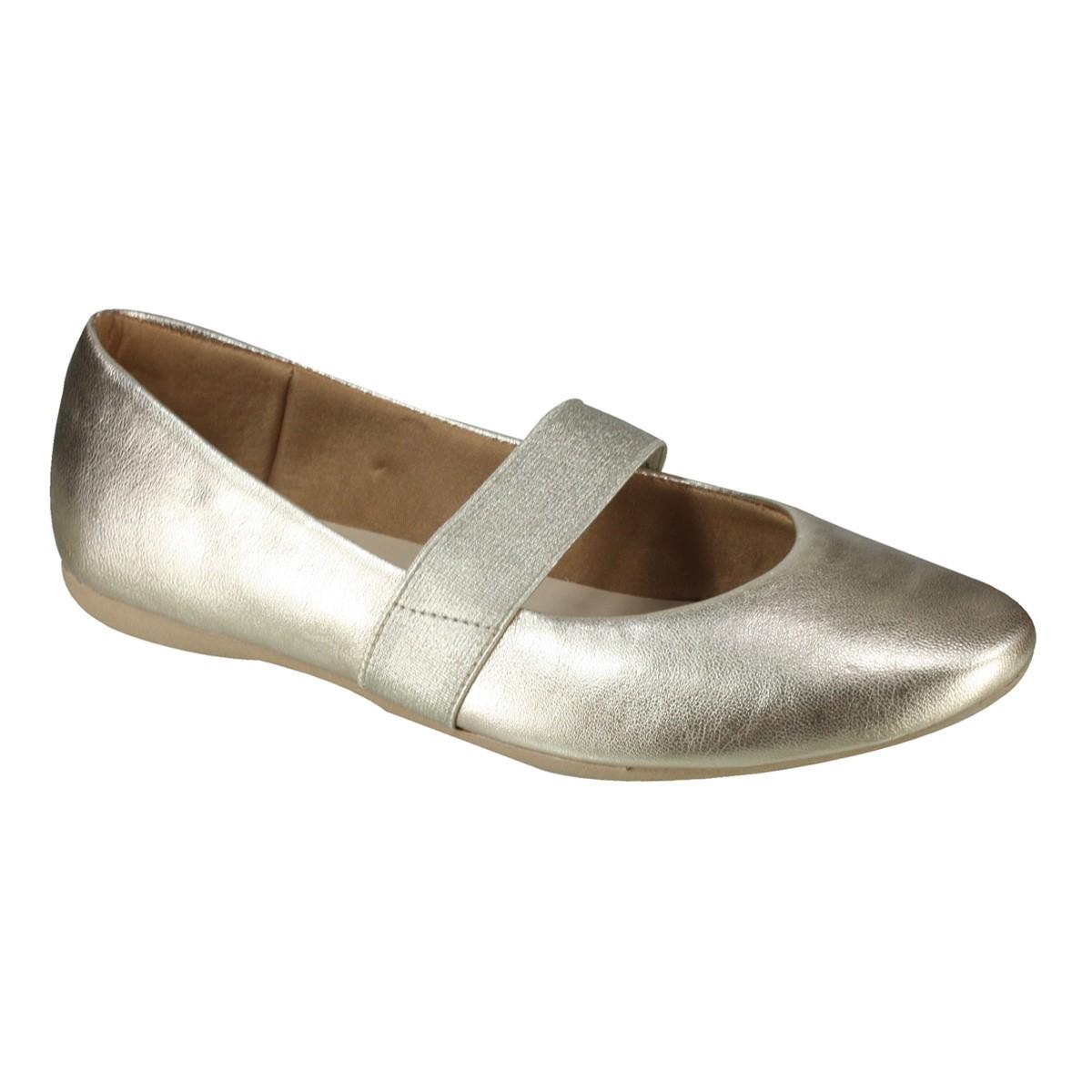 921cd8844 Sapato Usaflex Boneca T7503/50 - Dourado (Mestiço) - Botas Online ...