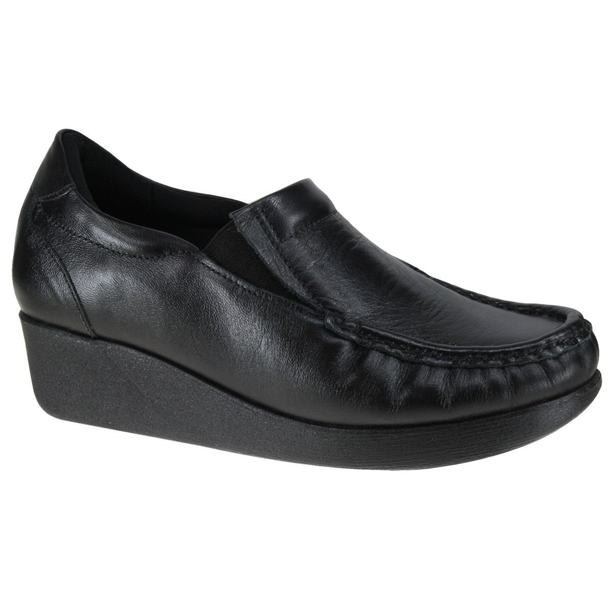 a40b98426e Sapato Usaflex 5743PL 00 - Preto (Caprina) - Botas Online Femininas ...