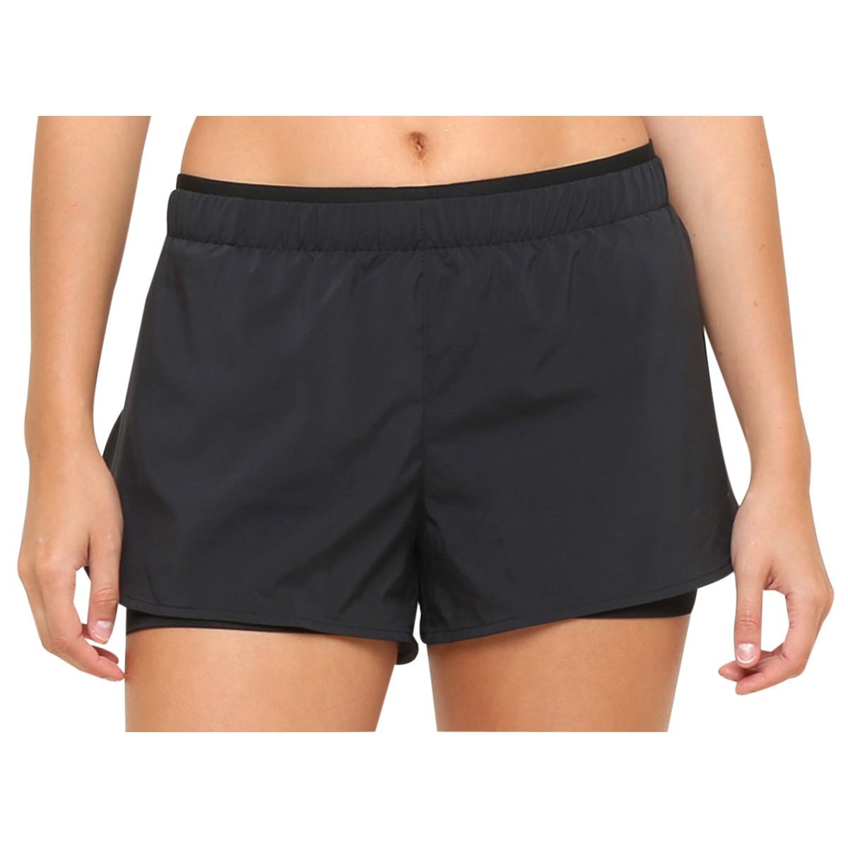 6840e781e4 Short Feminino Nike Full Flex 2 In 1 777488-010 - Preto - Botas ...