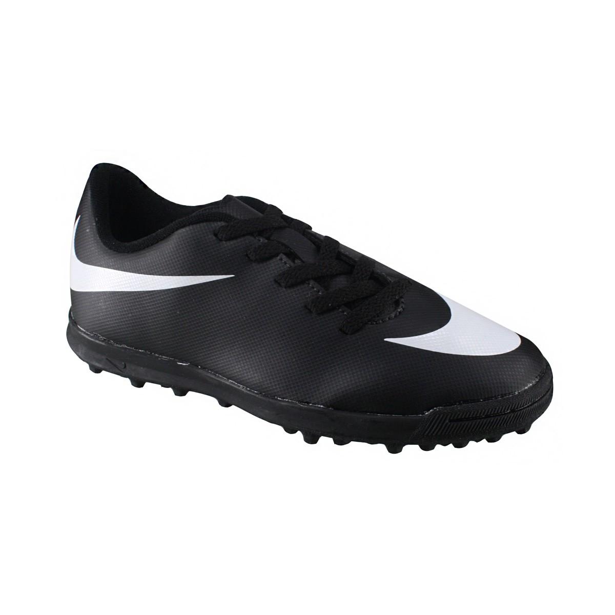 0e256954ebd7a Amplie a imagem. Chuteira Society Nike JR Bravata TF Infantil  Chuteira  Society Nike JR Bravata TF Infantil ...