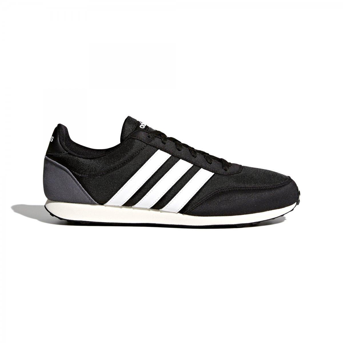 6cf094994 Tênis Adidas V Racer Masculino BC0106 - Preto/Branco - Botas Online ...
