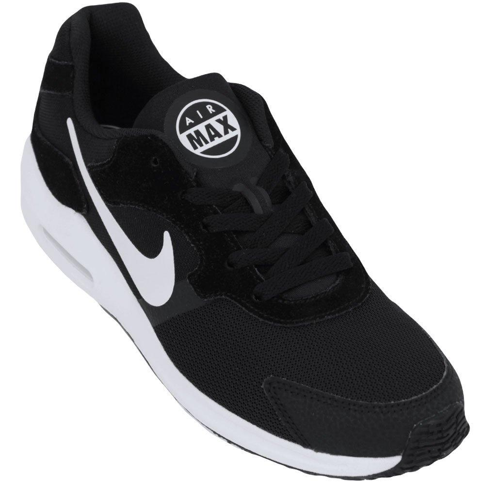 9d57fd0253b Tênis Feminino Nike Air Max Guile 916787-003 - Preto Branco - Botas ...