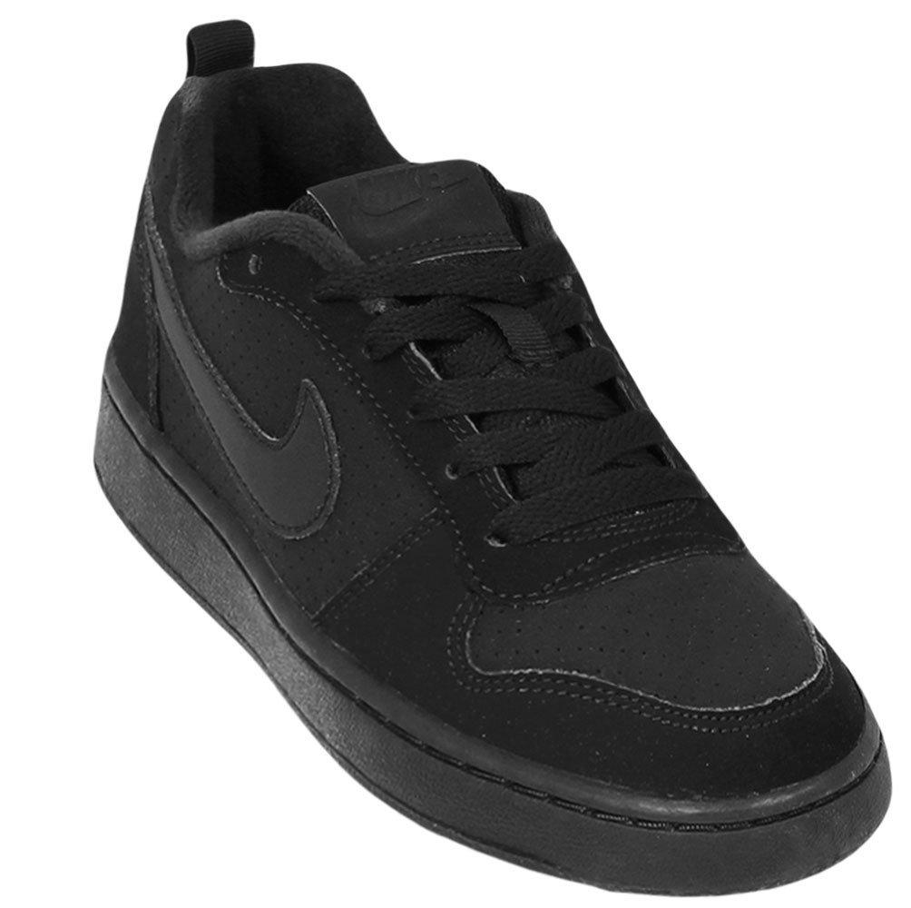 1d09e030fee Tênis Infantil Nike Court Borough Low 839985-001 - Preto - Botas ...