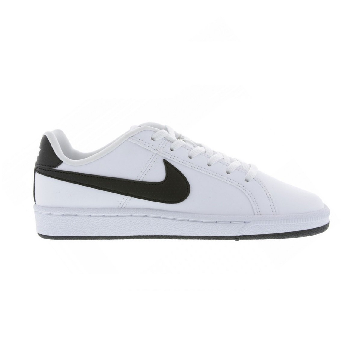 Tênis Juvenil Nike Court Royale SL AV3164-101 - Branco Preto - Botas ... b9395634d5281