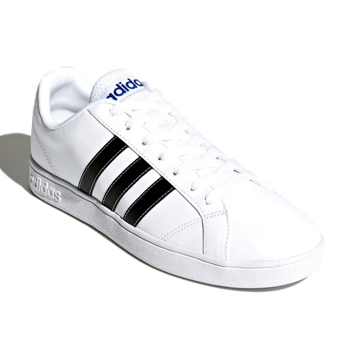 804786d8795 Tênis Masculino Adidas VS Advantage F99256 - Branco Preto - Botas ...