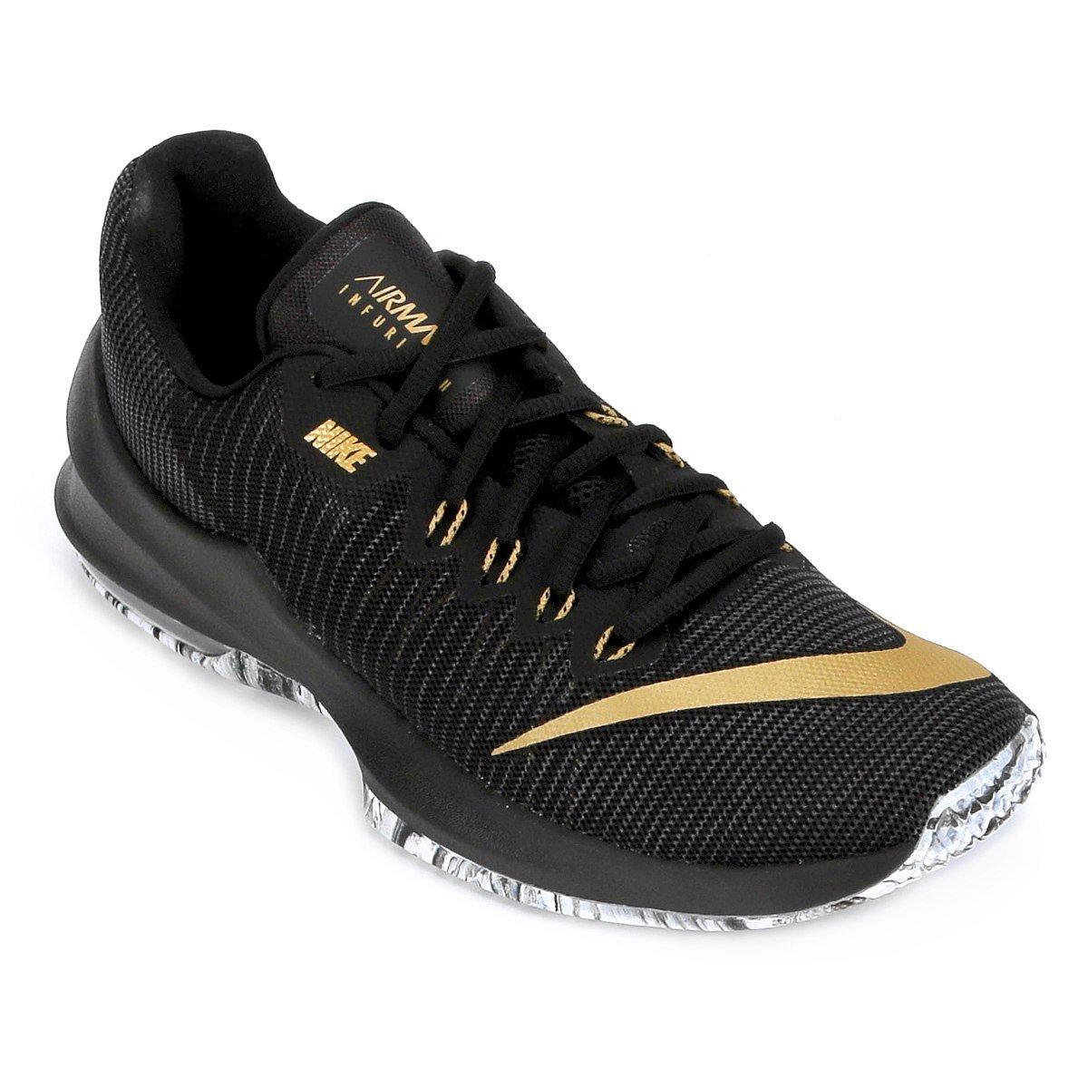 aab4e83a0 Tênis Masculino Nike Air Max Infuriate 2 Low Low 2 908975 090 Preto 320e16
