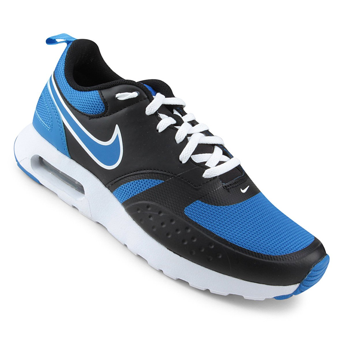 f8406c5601 Tênis Masculino Nike Air Max Vision 918230-012 - Azul Preto Branco ...