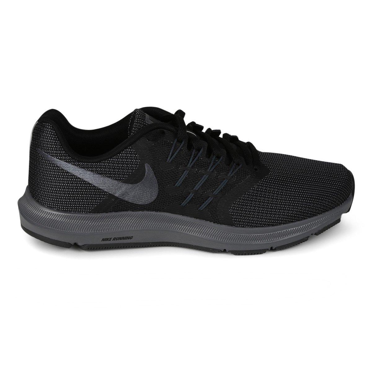 d77773ed1c4 Tênis Masculino Nike Run Swift 908989-010 - Preto Cinza - Botas ...