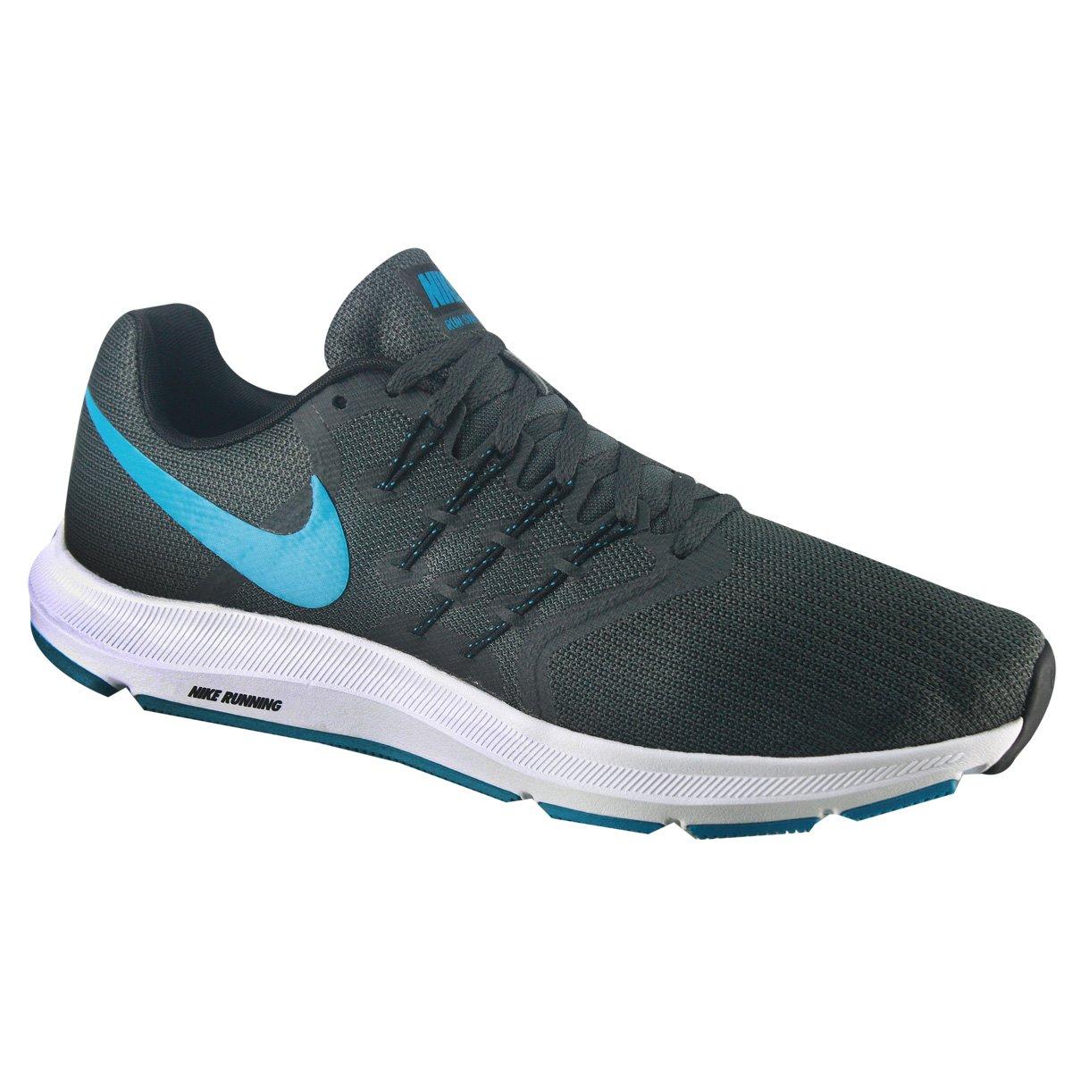 49544ebf2dd Tênis Masculino Nike Run Swift 908989-014 - Preto Azul - Botas ...