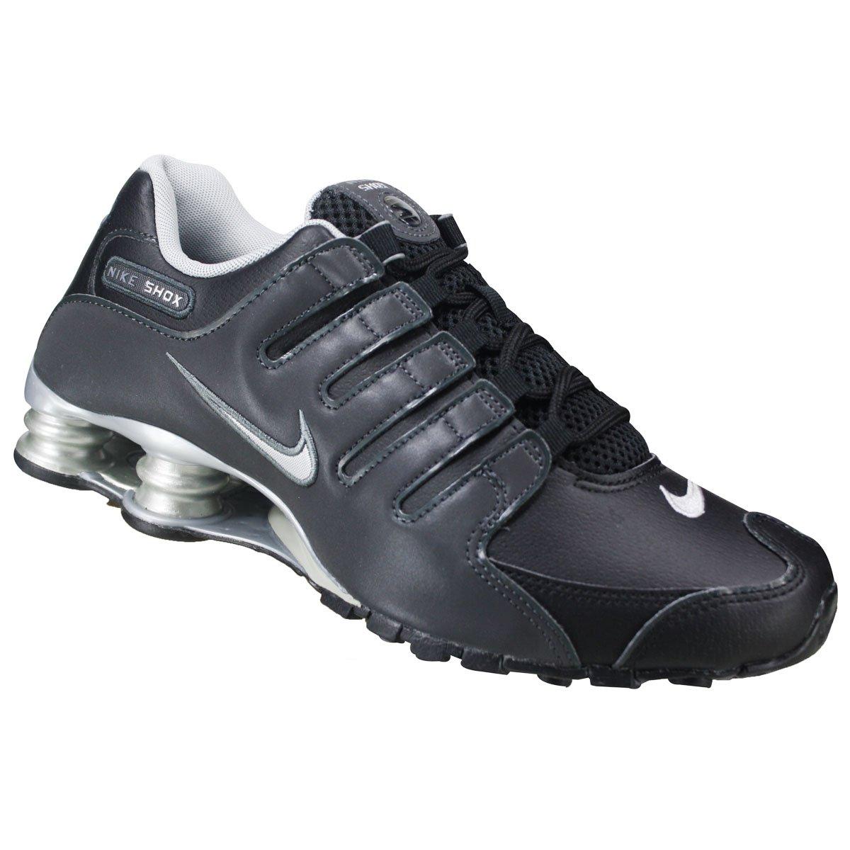 6a06a7535ec Tênis Masculino Nike Shox NZ EU 501524-024 - Preto Prata - Botas ...