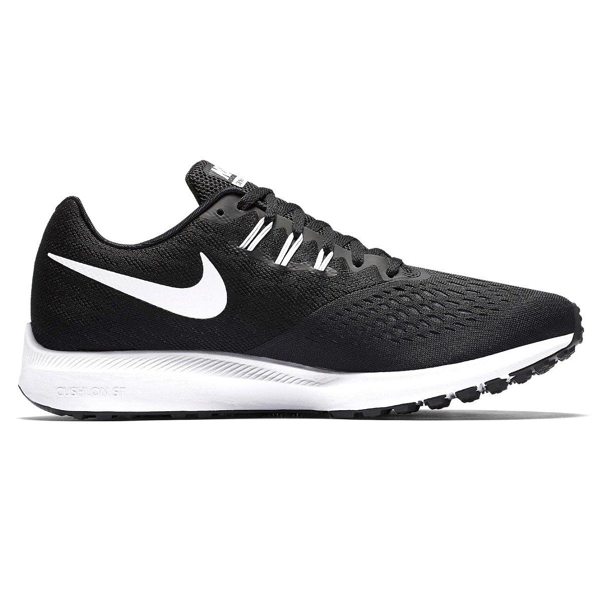 Tênis Masculino Nike Zoom Winflo 4 898466-001 - Preto Branco - Botas ... f60d1085819bf
