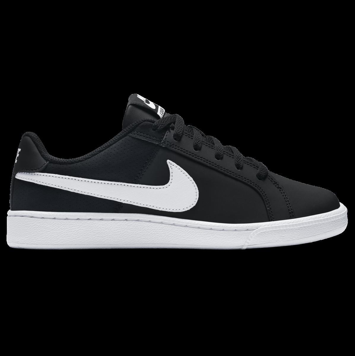 0e407223d8 Tênis Nike Court Royale Feminino 749867-010 - Preto Branco - Botas ...