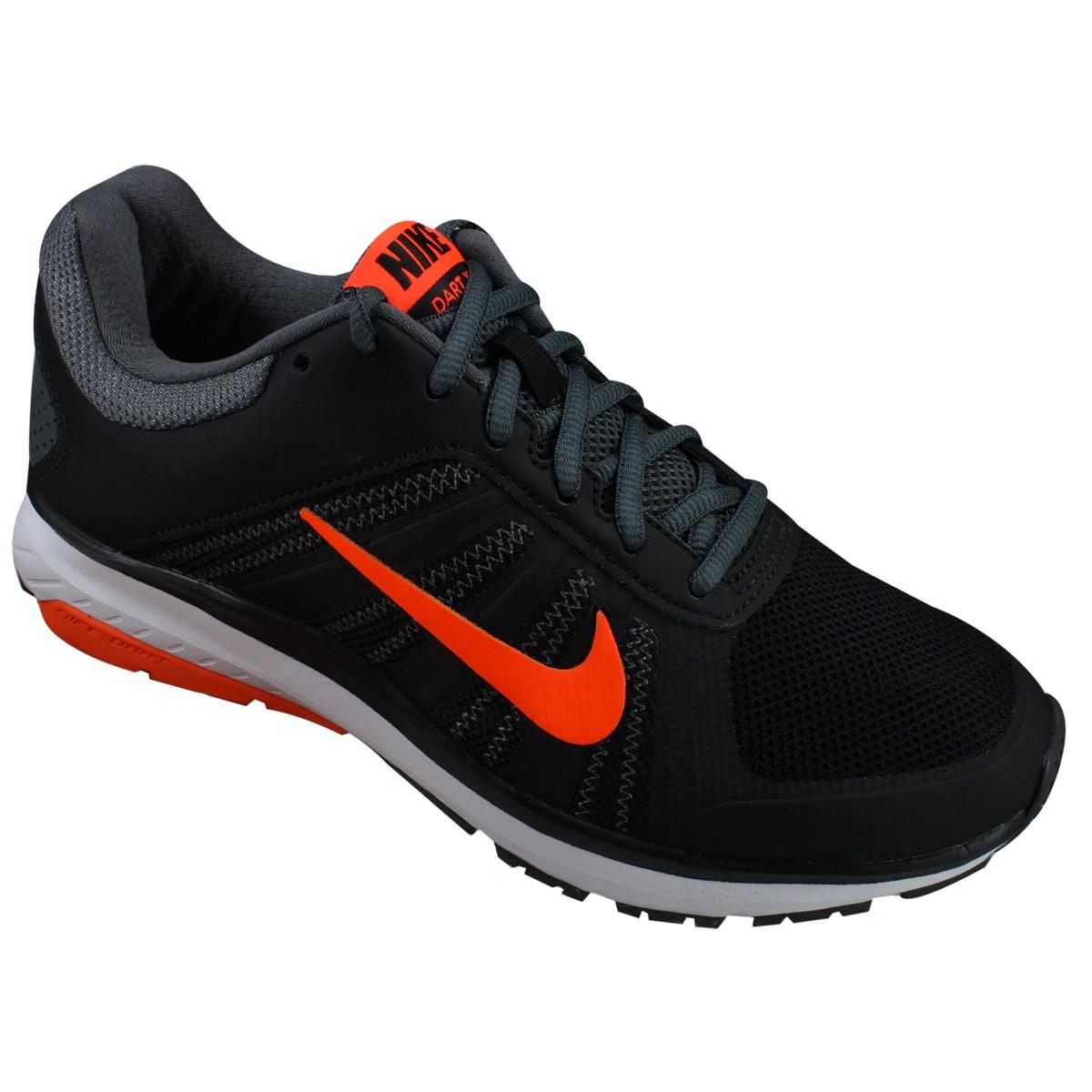 a4402f7d235 Tênis Nike Dart 12 MSL 831533-009 - Preto Laranja - Botas Online ...