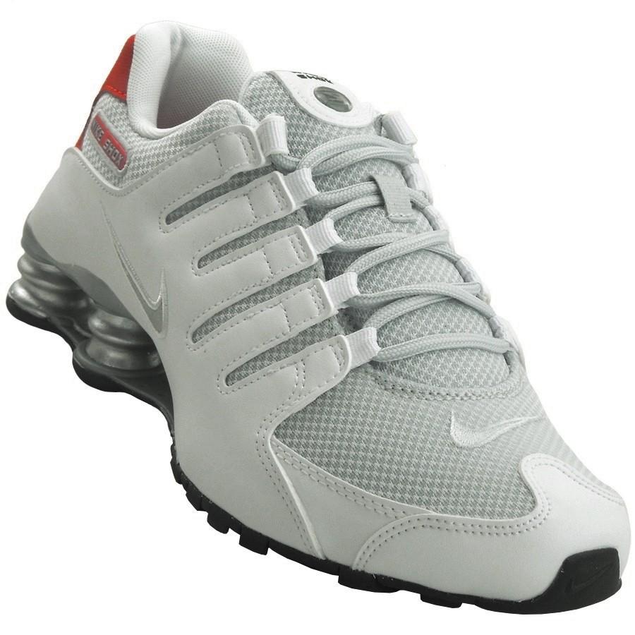 2e442bd89db Tênis Nike Shox NZ SE Masculino 833579-102 - Branco - Botas Online ...