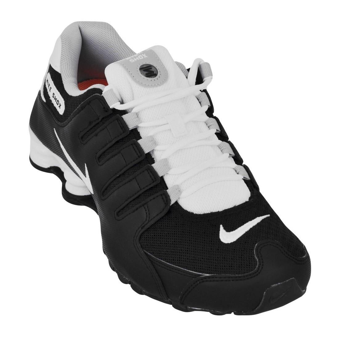 7ddf66d8f3f Tênis Nike Shox NZ SE Masculino 833579-002 - Preto Branco - Botas ...