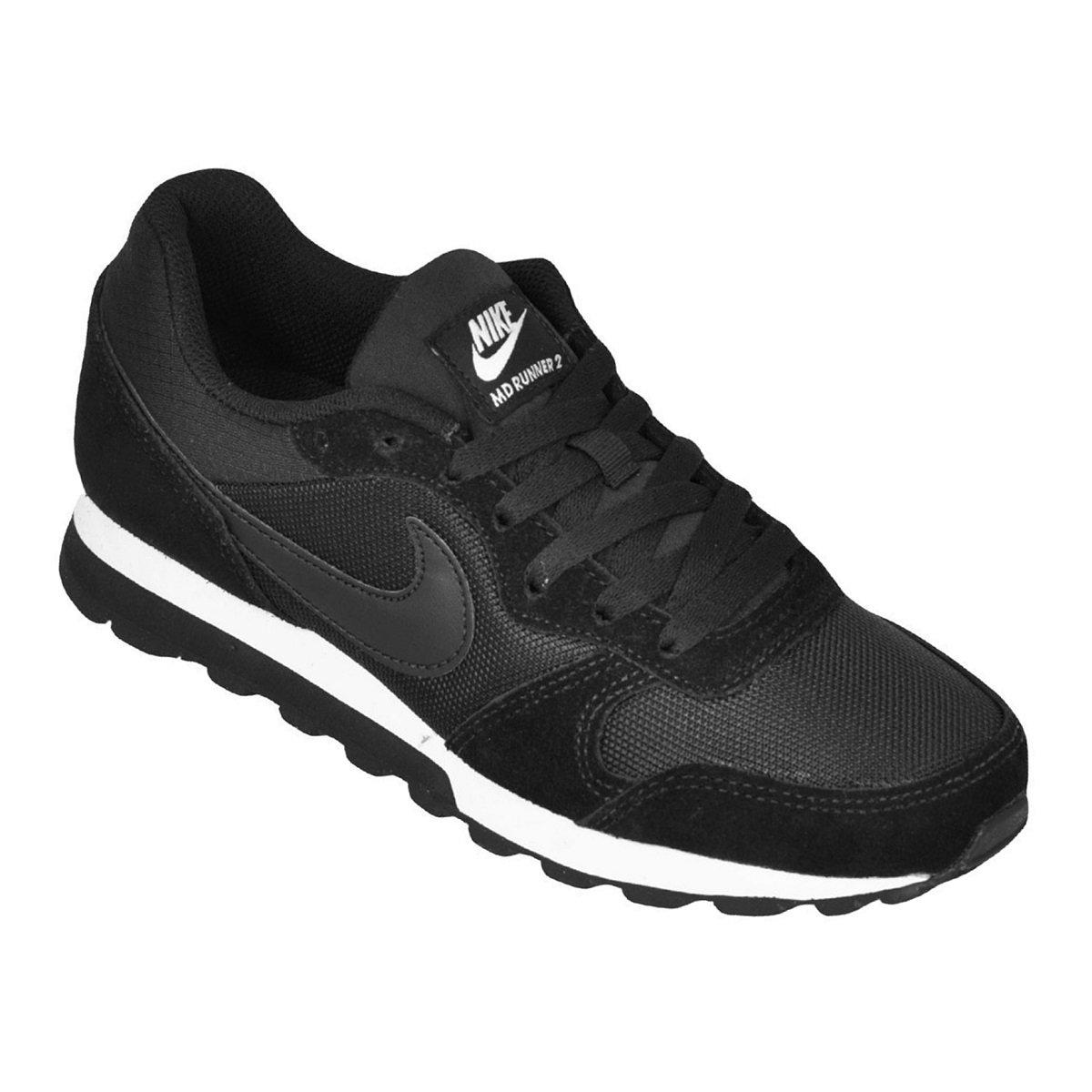 babb1d8e4bca2 Tênis Nike WMNS MD Runner 2 Feminino 749869-001 - Preto Branco ...